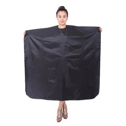 Wholesale Wholesale Cutting Capes - Hairdresser Barbers Hairdressing Cape Gown Cloth Haircutting Hair Cut Salon Apron Nylon Cloth Styling Tool