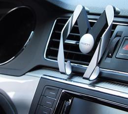 Soportes para móviles online-Soporte del coche del teléfono del respiradero de Autobot M Mobile para el soporte ajustable del teléfono del coche del ABS del aire del ABS del soporte del aire del coche de Samsung del iPhone