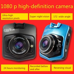 Wholesale Double Dvr Camera - car dvr authentic 1080 p high-definition automobile vehicle traveling data recorder double lens Night vision wide-angle mini car all-in-one