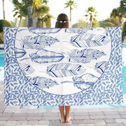 Wholesale Thick Yoga Blanket - Wholesale-High Quality Square Printed Face Towel Bath Thick Absorbent Soft Hand Towel Travel Beach Towels Washcloth Dec05