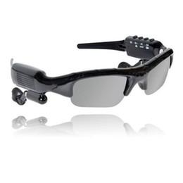 Wholesale Electronic Sunglasses - New 8GB 4 in 1 Smart Sunglasses Sports DVR Mini DV Audio Video Recorder Portable Camcorders Video Camara MP3 Player Earphones