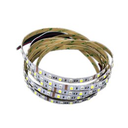 Wholesale Silica Tubes - 5M 5050 SMD RGB White LED Strip RGBW RGBWW Flex LED Light strips 5M 300LEDS Waterproof Tube Silica 12V DC Christmas Holiday lights