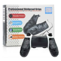 Wholesale Playstation Controller Grip - Sweat Block Skidproof Rubber Texture Grips Antiskid Shell for SONY PS4 PlayStation 4 Controller