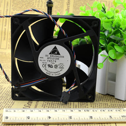 Wholesale Ball Chassis - Wholesale- Delta winds of 12038 12V1.6A AFC1212DE 4 pwm smart thermostat wire chassis fan