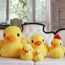 Wholesale Chinese Mans Dolls - Littlecu Chinese Rhubarb Duck Stuffed Toys Lovely Doll Hong Kong Chinese Rhubarb Duck Doll Men And Women All Yes