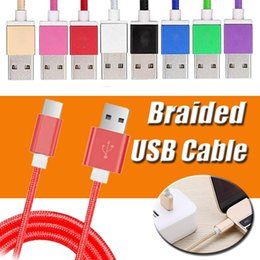 Wholesale S Micro Usb - 1.5M Long Strong Braided USB Charger Cable Micro V8 3.5mm Cables Data Line Colorful Metal Plug Charging Adapted For Samsung Note 8 S8 Edge S