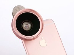 Wholesale Microscope Photos - Wholesale- Clip 0.6X Wide Angle Lens, 15X Microscope Lens Cell Phone Camera Photo Lens For Xiaomi Redmi 3s,Redmi Pro,Redmi 3 Pro,Redmi 3x