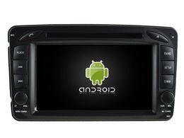 Wholesale Dvd Gps For C Class - Navirider octa core android6.0 car dvd player for MERCEDES-BENZ C Class W203 CLK W209 M W163 W639 gps navi radio stereo 3G WIFI dvr headunit