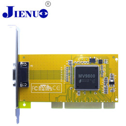 Wholesale Pci Card Security Dvr Channel - Wholesale- 8 channels DVR Card Real Time Video Capture Card D1 Record Dvr Pci Cctv System Security Equipment