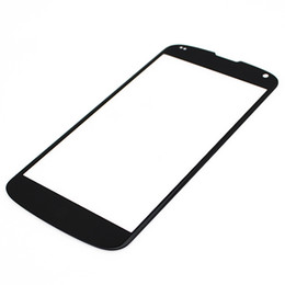 Wholesale Lg Nexus Screen - 100PCS Outer Front Screen Glass Panel Lens Replacement for LG Google Nexus 4 5 5x free DHL