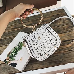 Wholesale Vogue Mini - Circle ring style casual totes bag, vogue clutch bag, western style shoulder bag, characteristic lady bag for elegant life