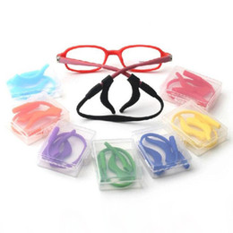Wholesale Children Glasses Cord - 2015 Kids Silicone Eyeglasses Cord, Head Band Strap Cord, Children Glasses Safety Retainer, Eyeglasses Sport Cord Chain