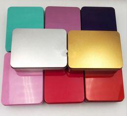 Wholesale Empty Metal Case - Tin Box Survival Kit Tin Higen Lid Small Empty Silver Flip Metal Storage Box Case Organizer For Money Coin Candy Keys