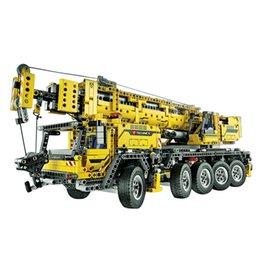 Wholesale Toy Crane Ship - IN STOCK Free shipping 2606pcs LEPIN 20004 Motor power mobile crane MK Model Building blocks Bricks 42009