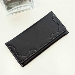 Wholesale Leather Money Wallet Woman - Women Purse Wallet Ladies Zipper Leather Wallet Retro Day Clutches Women Money Coin Purse Handbags ElUnico