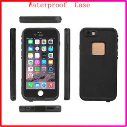 Wholesale Water Proof Black Box - New Coming 100% Waterproof Phone Case Shock proof defender cases cover for Iphone 6S iphone 6s plus with Retail Box