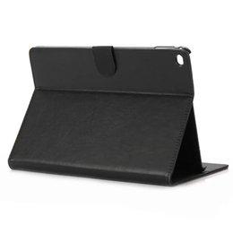 Wholesale Crazy Horse Ipad Mini - Flip Leather Case for iPad Air Retro Crazy Horse Skin Folio Folding Stand PU Leather Case Cover for Apple ipad air 2