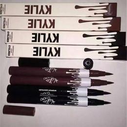 Wholesale Eye Lining - kylie jenner eyeliner eye liner liquid line pen pencil waterproof long lasting kylie eye liner makeup cosmetics tools girls lady beauty