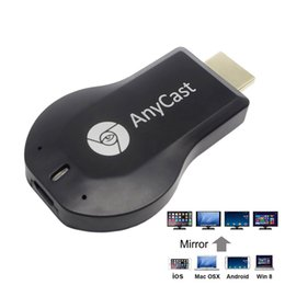 Wholesale Dlna Display - Anycast M2 Plus HDMI Wi-Fi Display Dongle Receiver 1080P Airmirror DLNA Airplay Miracast Easy Sharing HDMI TV Stick for IOS Andriod Windows