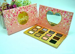 Wholesale Hot Girl Water - HOT! NEW Makeup Eyeshadow Funfetti Eye Shadow Palette 12 Color Eyeshadow IT to be a girl+GIFT dhl free shipping