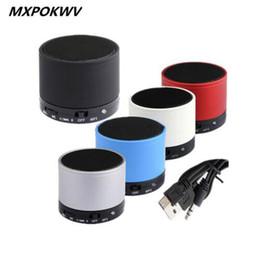Wholesale Audio Vibration - S10 Bluetooth Speaker S10 Mini Vibration Subwoofer Speaker Portable Wireless Bluetooth Speaker S10 For PC Laptop Phone Computer