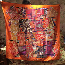 Top Qualtiy Lujo 100% bufanda de seda Bufanda de Invierno Mujeres Marca Bufandas mujeres Pashmina Infinity Bufanda Mujeres Chales AQ24 desde fabricantes