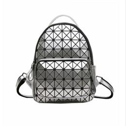 Wholesale Wild Fashion Bags - 2017 Laser Splicing Shoulder Bag Female Korean Fashion Wild Casual Backpack Mini Small Bag 27 GH3