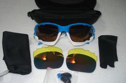 Wholesale racing jackets orange - new RACING JACKET Brand Designer Sunglasses for men Ride Sports Sunglasses Comfortable Eyeglass Flash Mirror Lenses