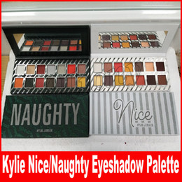 Wholesale Matte Shadows - Kylie Jenner Naughty & Nice Eyeshadow Palette for Christmas Gift 14 colors Eye shadow Palette Choose Your Palette by kylie cosmetics