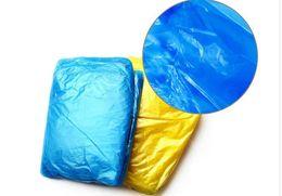 Wholesale Disposable Raincoat Fabric - One-time Raincoat Fashion Hot Disposable PE Raincoats Poncho Rainwear Travel Rain Coat Rain Wear Travel Rain Coat KLQ0035