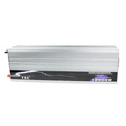 Wholesale Home Power Inverter - Wholesale- Pure Sine Wave 12000W Inverter 12v 220v Car Power Inverter For Home Boat Solar