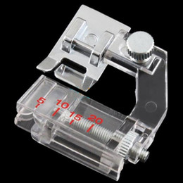 Wholesale Sewing Machine Foots - Drop Shipping 2016 Home Adjustable Bias Binder Presser Foot Feet for Sewing Machines