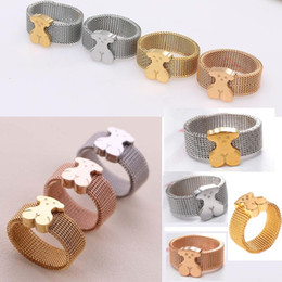 Wholesale Cute Simple Rings - 18K Gold Plated TL stainless steel cute ring for men women simple design harmless for skin featured item new edition