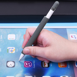 Wholesale Apple Pencils - Magnetic Non-slip Sleeve for Apple Pencil,Soft Silicone Holder Grip for Apple iPad Pro Pencil JN-C062