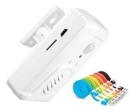 Wholesale Wireless Pir Motion Sensor Alarm - M-V22 PIR Sensor Audio Player Infrared Doorbell Wireless Motion Sensor Activated Shop Store Welcome Door Bell Entry Alarm AT
