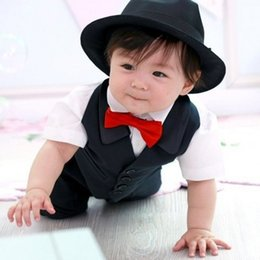Wholesale Kids Ties For Sale - Wholesale- New Infant Baby Boy Kids Children Bow Ties Necktie Bowtie For Party Wedding Hot Sale