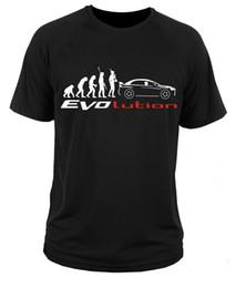 Wholesale Evolution Shorts - 2017 Newest Creative Mitsubishi Lancer Evo Evolution 3D Printed Men's 100% Cotton T Shirt Summer Popular Short Sleeve Tees