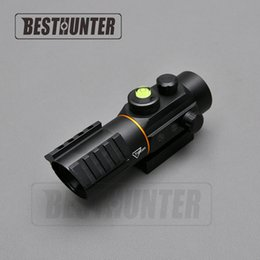 Wholesale Fit Shot - Trijicon 3X42 Red Dot Tactical Sight Scope Fit Rail Mount 11mm 20mm Riflescope Hunting Shooting Gun Sight