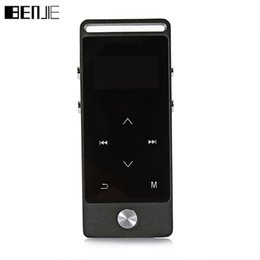 Wholesale 8gb Touch Music Player - Wholesale- Touch Screen Hifi mp3 player BENJIE S5 APE FLAC WAV High Sound Quality 8GB Entry-level Lossless Music Player Walkman with FM