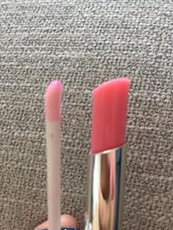 brilho labial mini-batom atacado Desconto Nova vinda LÁPIO BALM + LIP GLOSS maquiagem set 2 pçs / caixa rosa cores free shopping