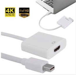 Wholesale Mini Displayport Converter For Display - The new Mini Display Port DisplayPort DP Male to HDMI Female mini dp to hdmi converter adapter Cable For Apple Macbook PC