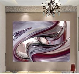 Wholesale picture canvas sizes - Modern Oil Painting (No Frame) Abstract Scene Canvas Giclee Wall Art picture for Living Room Home Decoration (Size:30x48cm)