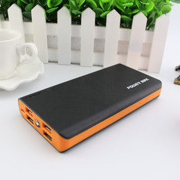 Wholesale Lithium Battery Bank - 20000mah Power Bank External Lithium Pack Battery Pover bank Powerbank Fast Charger For iphone xiaomi Samsung LG