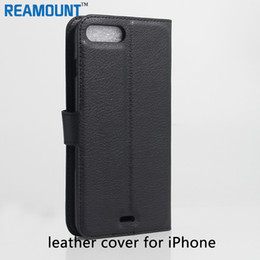 Wholesale I Phone Leather Wallet - 30pcs Case For iPhone 6 6S   6S Plus Wallet Flip Style Luxury PU Leather Cover With Card Holders 4.7 5.5 inch Coque i Phone Bag