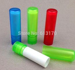 Wholesale Mini Lip Tube - New arrival 5g 5ml empty lip balm tubes diy lipstick Lip gloss bottle Mini small sample cosmetic packing vials free shipping