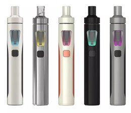 Wholesale 5pcs Ego - 5pcs Authentic eGo Aio All in One Starter Kit with with BF SS316-0.6ohm Anti Leaking Atomizer 1500mah eGo AIO Battery vs eGo One