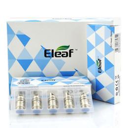 Wholesale tanks for vaporizers - Eleaf EC Head 0.3 0.5 ohm iJust 2 Melo Atomizer Organic Cotton Coils For iJust 2 Melo Tank Vaporizers