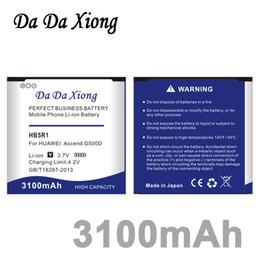 Wholesale P1 Lte - Da Da Xiong 3100mAh HB5R1 Battery for Huawei Ascend G500D G600 P1 LTE 201HW Panama U8520 U8832 U8832D U8836D U8950 U8950D