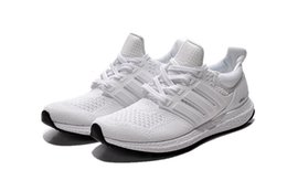 Wholesale Canvas Sneaker For Cheap - Free shipping new Ultra Boost UB 2.0 running shoes high quality cheap sports shoes white and black sneaker for man&woman shoes