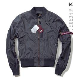 Wholesale Ground Sleeve - Free shipping new Army fans must men leisure windproof waterproof flight jacket autumn ground models uniforms M-XXL